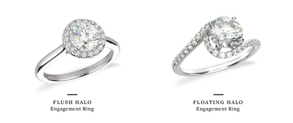 floating halo ring comparison