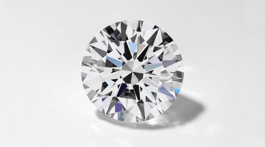The most expensive diamond cut, the round brilliant