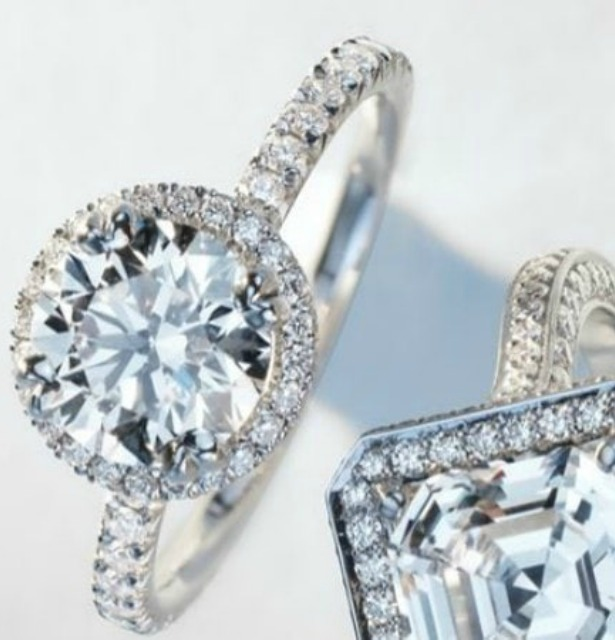 round cut engagement rings mobile