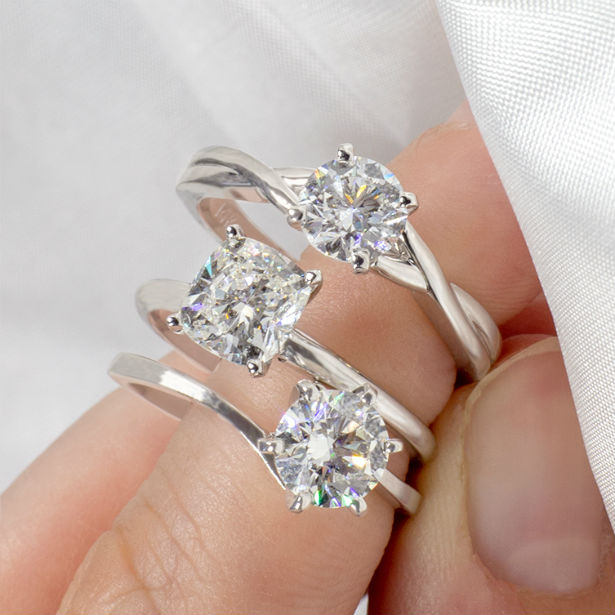 Round Vs Cushion How To Choose Between Diamond Shapes