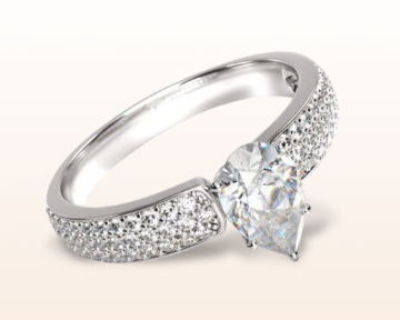 Wide Band Engagement Rings That Are Comfortable And Elegant