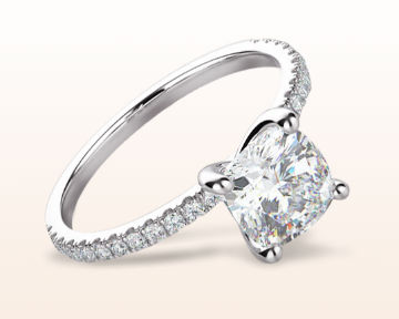 dainty engagement rings petite micropave diamond