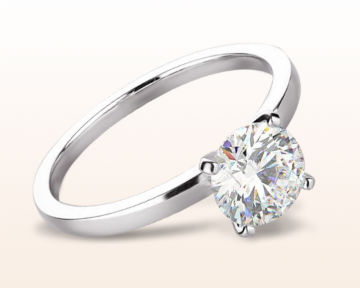 dainty engagement rings petite solitaire diamond