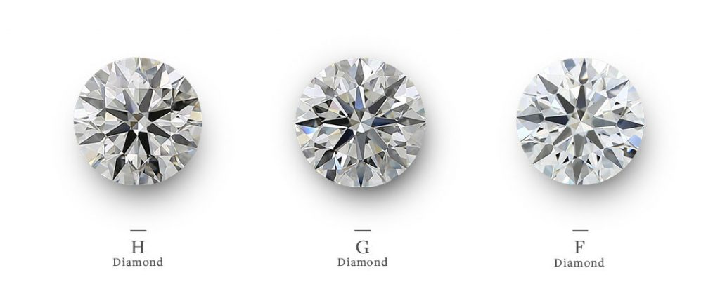 h, g and f color diamonds