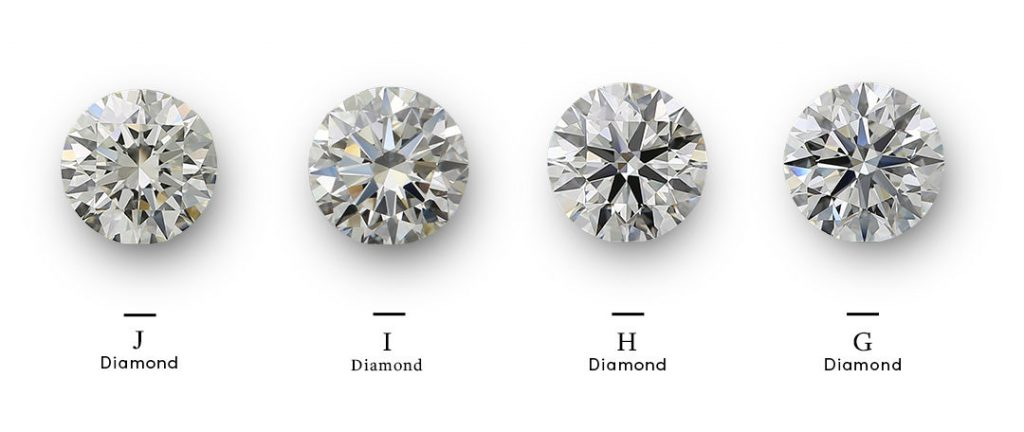 h color diamonds within color range
