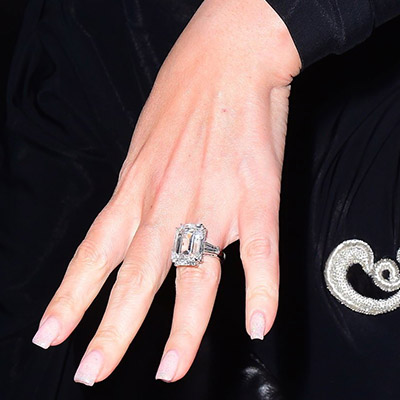 The Most Expensive Celebrity Engagement Rings They Re Massive