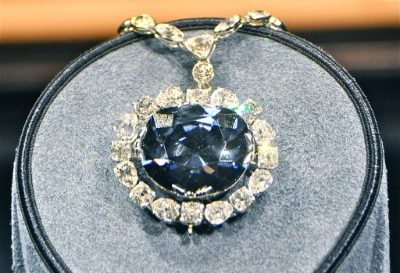 The Hope Diamond is one of the most expensive diamonds in the world