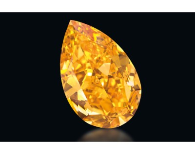 The Orange is one of the most expensive diamonds in the world