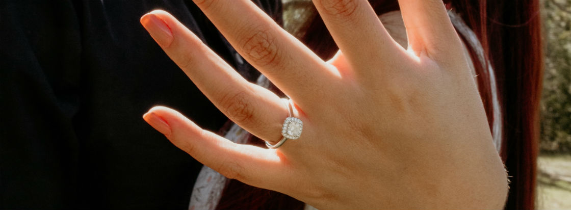 Princess Cut Halo Engagement Rings That Show Off Your Bold Diamond
