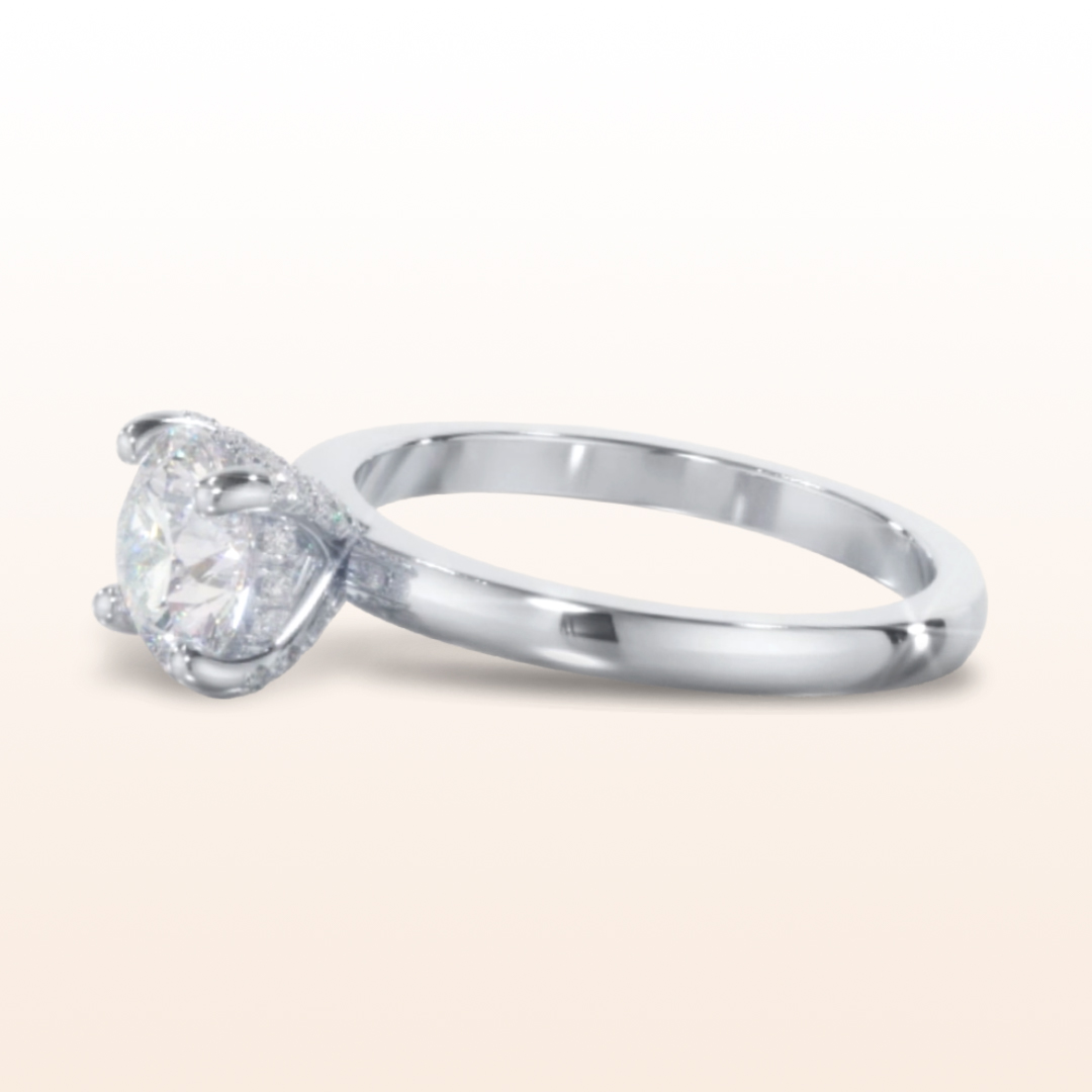 engagement rings Diamond Basket Solitaire