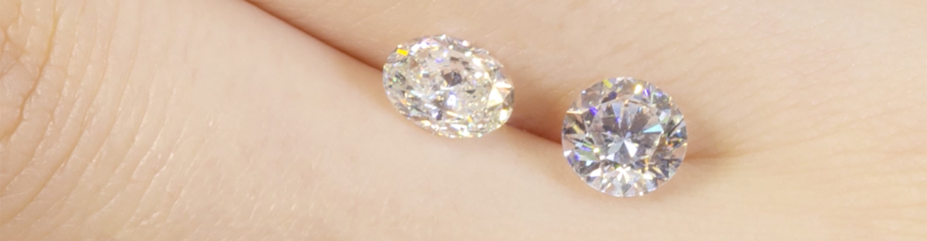 Oval Round Loose Diamonds