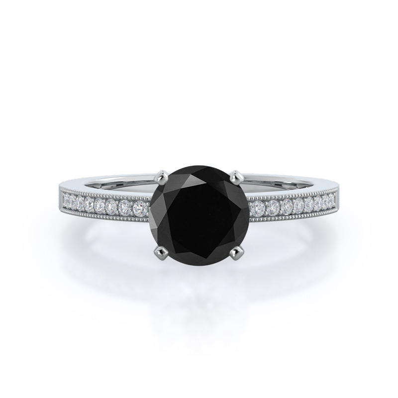 Settings That Would Look Stunning As Black Diamond Engagement Rings