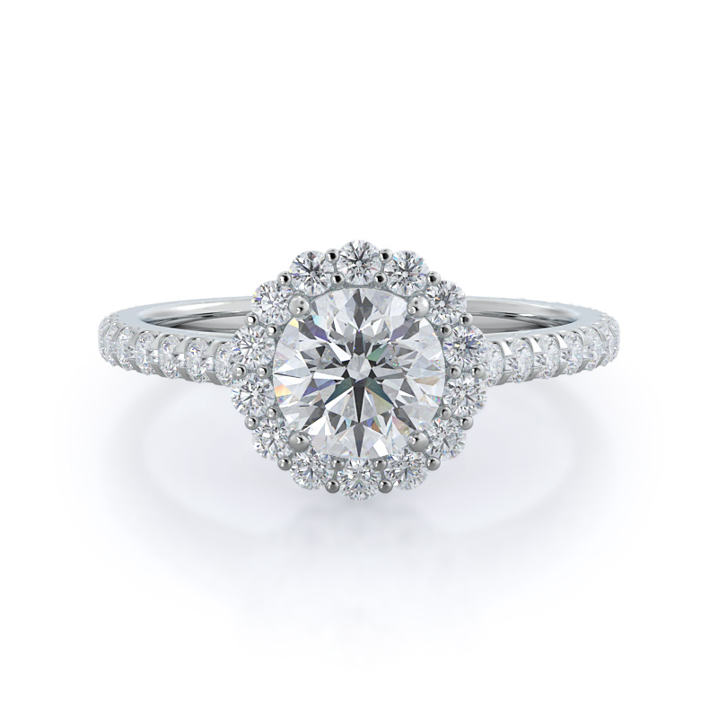 Benefits Of A Halo Engagement Ring That Might Help You Pick A Style
