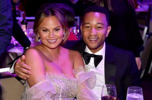 Chrissy Tiegen and John Legend