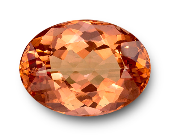 Imperial Topaz: fiery-red orange variety, most expensive type of topaz