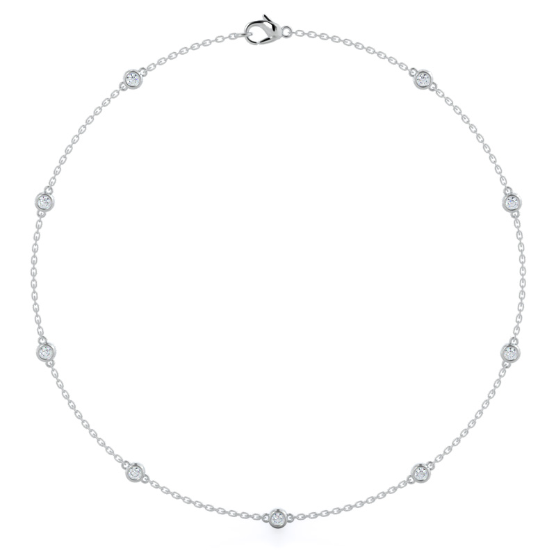 Diamonds By The Yard, 14KT White Gold