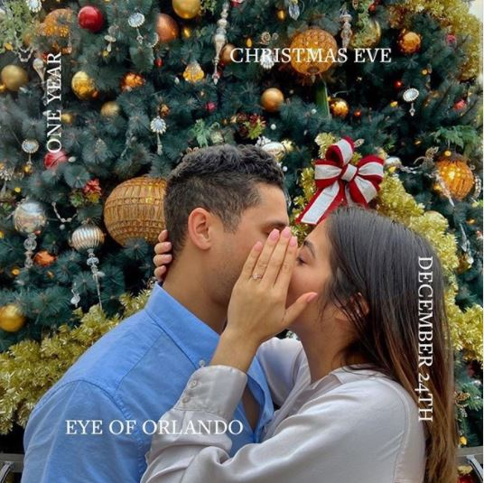 Winter Holiday Proposal: Yenny & Edwin