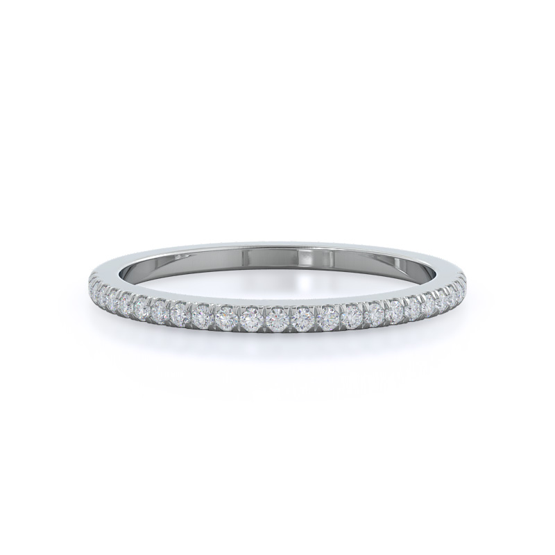 Carved Dome Men's Wedding Band