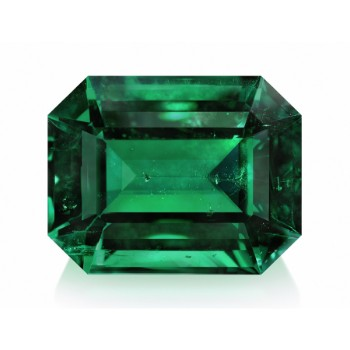 AAA quality natural round green emerald