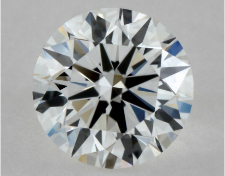 diamond with a VVS2 clarity grade