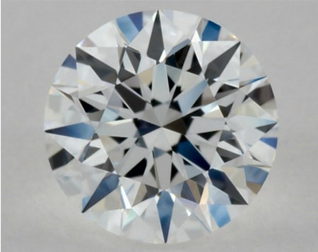 diamond with a VVS1 clarity grade
