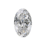 oval diamond with a perfect 1.50 length to width ratio