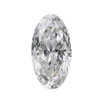 oval diamond with a longer 2.00 length to width ratio