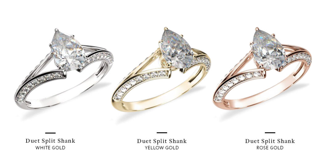 How to Choose An Engagement Ring Different Metals