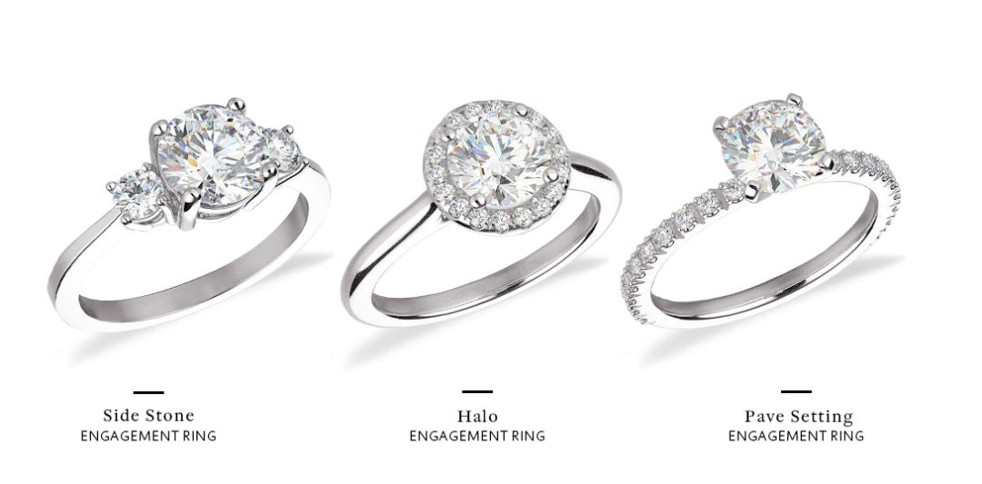How to Choose An Engagement Ring Different Settings