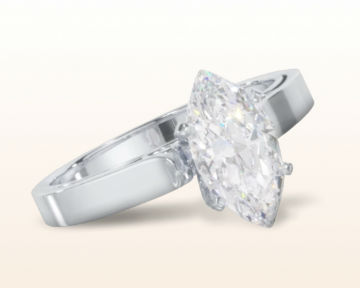 marquise cut engagement rings Grace Solitaire Diamond