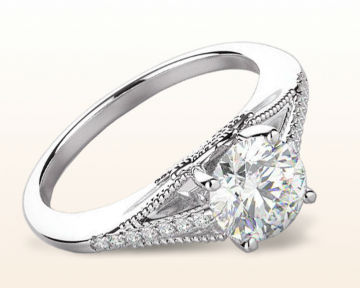 pretty engagement rings Classic Rising Diamond