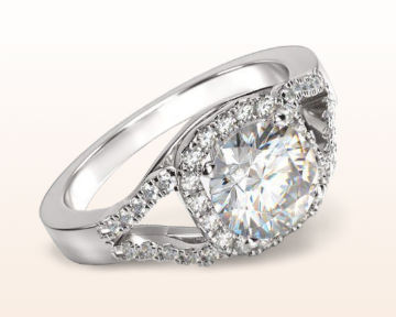 split shank halo engagement rings squarish