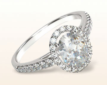 oval halo engagement rings cathedral