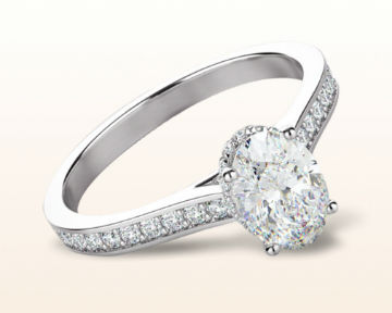 oval halo engagement rings gallery