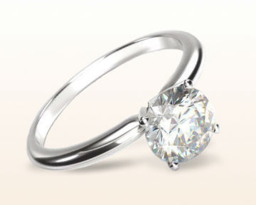simple engagement rings classic four prong
