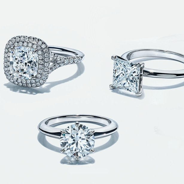 sparkling diamond engagement rings latest trends popular rings
