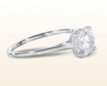 cathedral engagement rings poise basket
