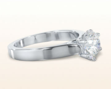 cathedral engagement rings weaved solitaire
