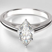 solitaire engagement rings marquise diamond