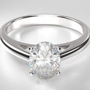 solitaire engagement rings oval diamond