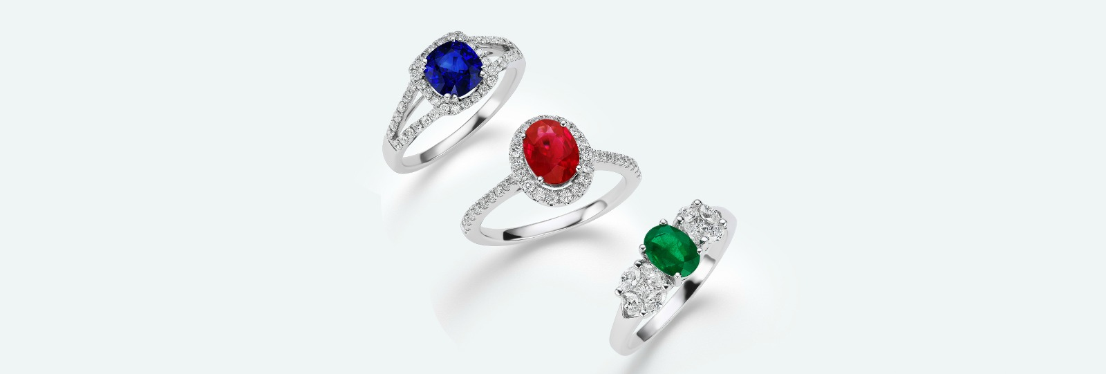 rings jewellery luxury coloured stone engagement trans