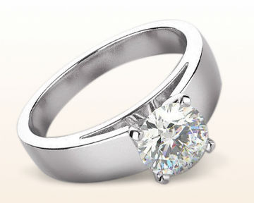 engagement rings for chefs smooth edge cathedral