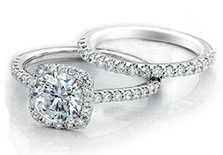 engagement ring set for buying diamond rings online