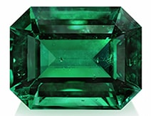 octagon emerald natural AAA shape