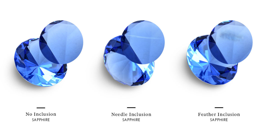 how much do sapphires cost inclusions
