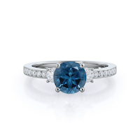 Duet London Blue Topaz Ring