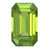 Step Cut Emerald Shape Peridot