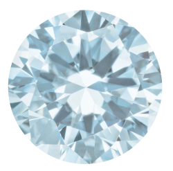 Aquamarine Brilliant Cut Round Shape