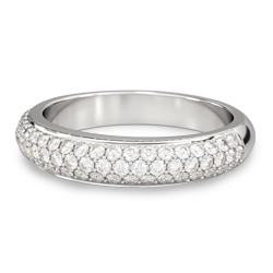 Wedding Rings And Bands With Diamonds Or Metal For Him Her