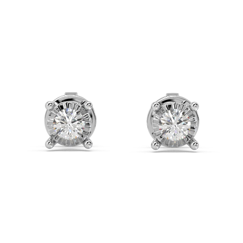 Mira Glitz Lab Diamond Studs
